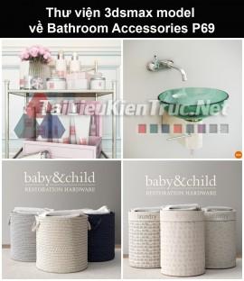 Thư viện 3dsmax model về Bathroom accessories (Đồ dùng phòng tắm) P69