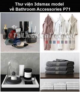 Thư viện 3dsmax model về Bathroom accessories (Đồ dùng phòng tắm) P71