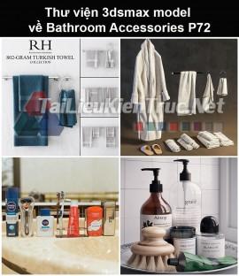 Thư viện 3dsmax model về Bathroom accessories (Đồ dùng phòng tắm) P72