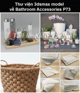 Thư viện 3dsmax model về Bathroom accessories (Đồ dùng phòng tắm) P73