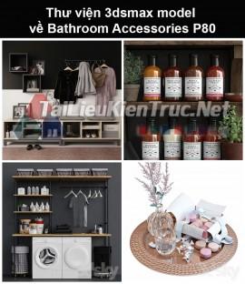 Thư viện 3dsmax model về Bathroom accessories (Đồ dùng phòng tắm) P80