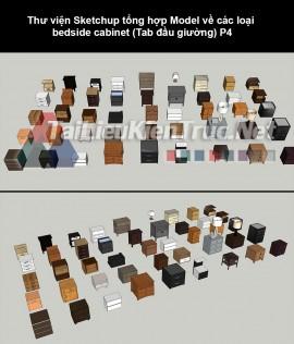 Thư viện Sketchup tổng hợp Model về các loại bedside cabinet (Tab đầu giường) P4