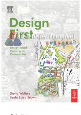 Sách kiến trúc quy hoạch Design based planning for communities