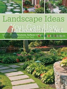 Sách Landscape Ideas You Can Use (Những Ý Tưởng Cảnh Quan Bạn Có Thể Sử Dụng)