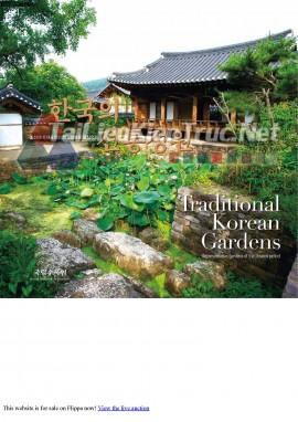 Cuốn sách Traditional Korean Gardens (Những Khu Vườn Hàn Quốc Truyền Thống)