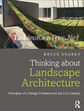 Sách Thinking About Landscape Architecture (Tư Duy Về Kiến Trúc Cảnh Quan)
