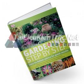 Sách Gardening Step By Step (Các Bước Thi Công Cảnh Quan Sân Vườn)