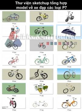 Thư viện sketchup tổng hợp model về xe đạp các loại P7
