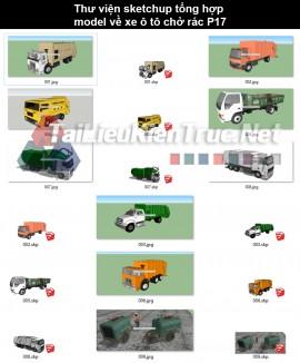 Thư viện sketchup tổng hợp model về xe ô tô chở rác P17