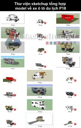Thư viện sketchup tổng hợp model về xe ô tô du lịch P18