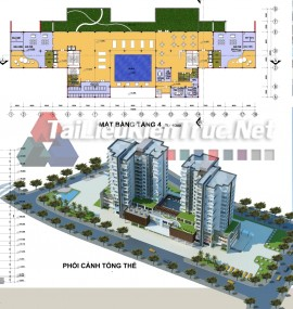 Đồ án kiến trúc tổng hợp - Khu phức hợp TT thương mại, văn phòng và nhà ở