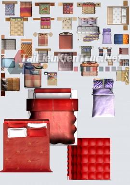 Thư viện mặt bằng Photoshop tổng hợp về Các loại đồ đạc trong nhà 049 download