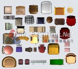 Thư viện mặt bằng Photoshop tổng hợp về Các loại đồ đạc trong nhà 050 download