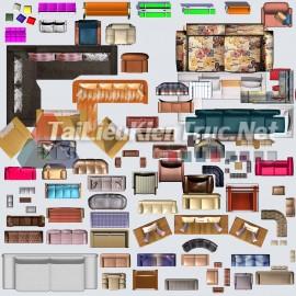 Thư viện mặt bằng Photoshop tổng hợp về Các loại đồ đạc trong nhà 051 download