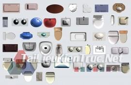 Thư viện mặt bằng Photoshop tổng hợp về Các loại đồ đạc trong nhà 052 download