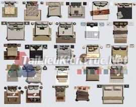 Thư viện mặt bằng Photoshop tổng hợp về Các loại đồ đạc trong nhà 054 download