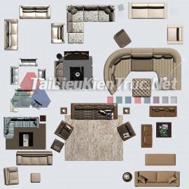 Thư viện mặt bằng Photoshop tổng hợp về Các loại đồ đạc trong nhà 055 download