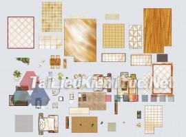 Thư viện mặt bằng Photoshop tổng hợp về Các loại đồ đạc trong nhà 058 download