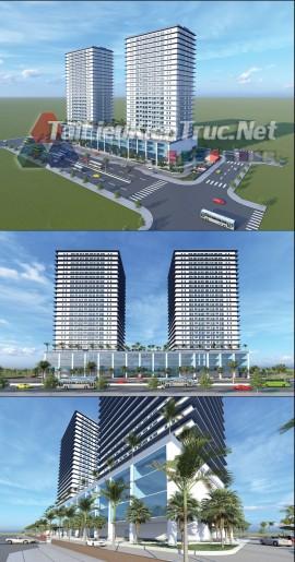 Đồ án tốt nghiệp kiến trúc - Thiết kế Chung Cư Thương Mại Hùng Vương