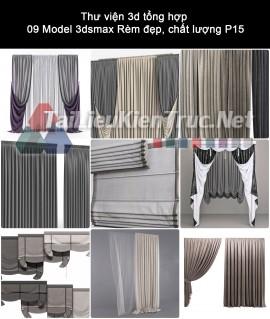 Thư viện 3d tổng hợp 09 Model 3dsmax Rèm đẹp, chất lượng P15