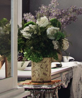 3D model lọ hoa Đẹp 008