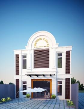 Hồ sơ thiết kế Nhà Hàng tiệc cưới Hương Cau Đà Nẵng