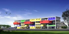 Phối cảnh trường học L047