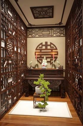 Sence Phòng thờ 018 - Thiết kế nội thất phòng thờ đẹp Full download