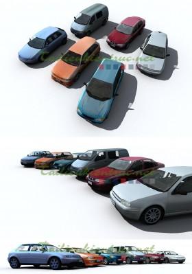 Thư viện Xe ô tô 3D Max