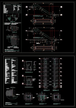 Bản vẽ Autocad chi tiết thang cuốn và thang máy