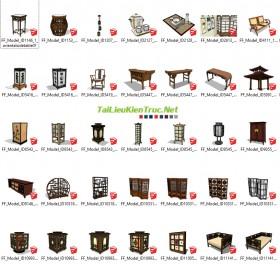 Thư viện Sketchup - Nội thất Trung Quốc 0026