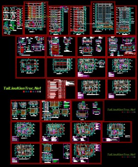Hồ sơ thiết kế khách sạn mẫu 001