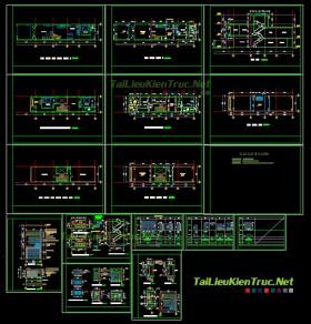 Hồ sơ thiết kế nhà phố 5x25m - 001