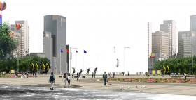 Phối cảnh khu đô thị hiện đại L031