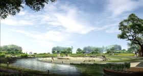Phối cảnh công viên cây xanh công cộng  L052