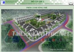 Đồ án Q1 - Quy hoạch nhóm nhà và thiết kế không gian ngoài nhà
