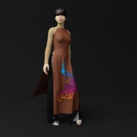 Model 3d Người mẫu - Duyên dáng áo dài Việt Nam