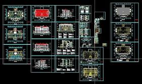Hồ sơ thiết kế thi công Ủy Ban nhân dân xã mẫu 03