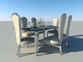 3d model table 00004