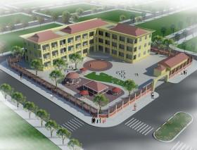 Hồ sơ thiết kế chi tiết Trường mầm non 3 tầng M04